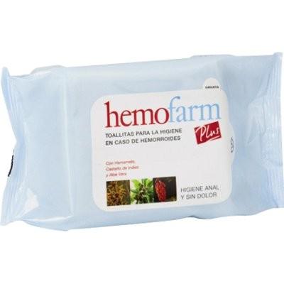 Hemofarm toallitas plus