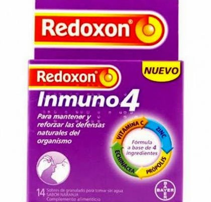 REDOXON INMUNO 4 14 SOBRES