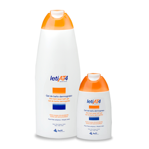 Leti AT-4 Gel de baño dermograso