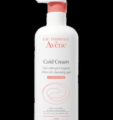Avene gel limpiador al Cold Cream
