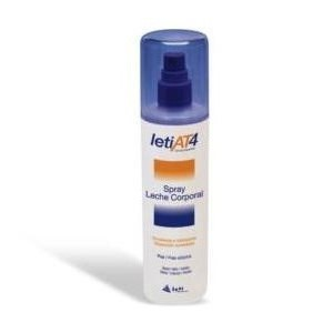Leti AT-4 spray leche corporal