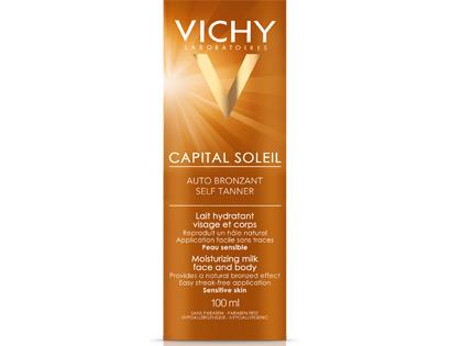 CAPITAL SOLEIL Crema hidratante autobronceadora rostro y cuerpo
