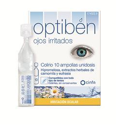 Optibén ojos irritados