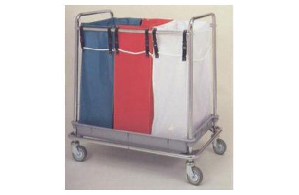 Carro ropa sucia con 3 bolsas Mod. 110/3